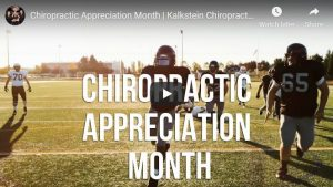 Chiropractic Appreciation Month