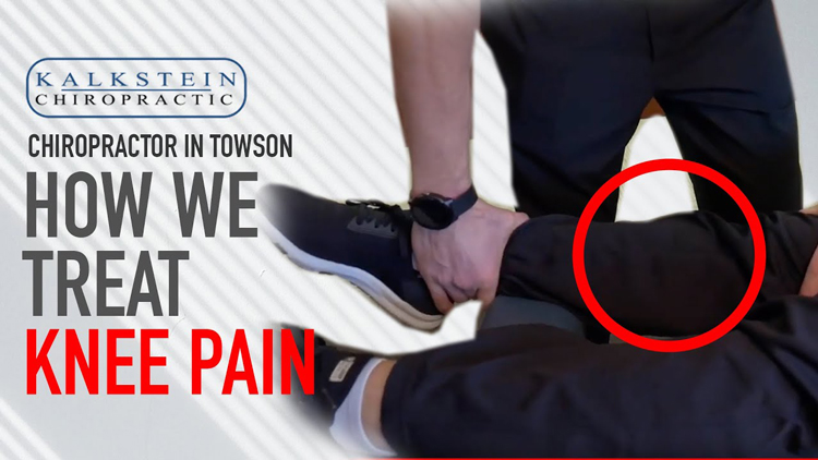 Chiropractic Care for Knee Pain in Towson MD
